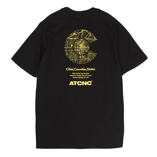 [앱놀머씽] City T-Shirt (Black)