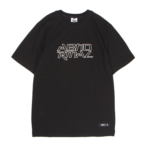 [앱놀머씽] Embo Logo T-Shirt (Black)