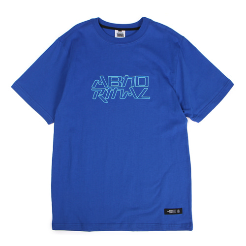 [앱놀머씽] Embo Logo T-Shirt (Blue)