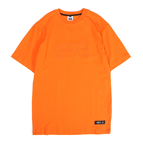 [앱놀머씽] Embo Logo T-Shirt (Orange)