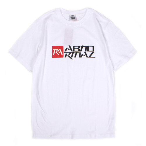 [앱놀머씽] 18 Symbolic T-Shirt (White)