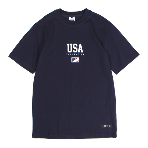 [앱놀머씽] 18 USA T-Shirt (Navy)