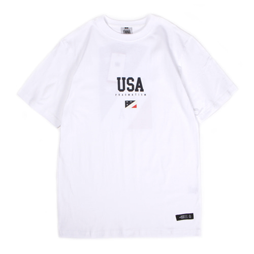 [앱놀머씽] 18 USA T-Shirt (White)