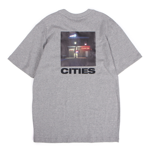 [앱놀머씽] Club54 T-Shirt (Gray)