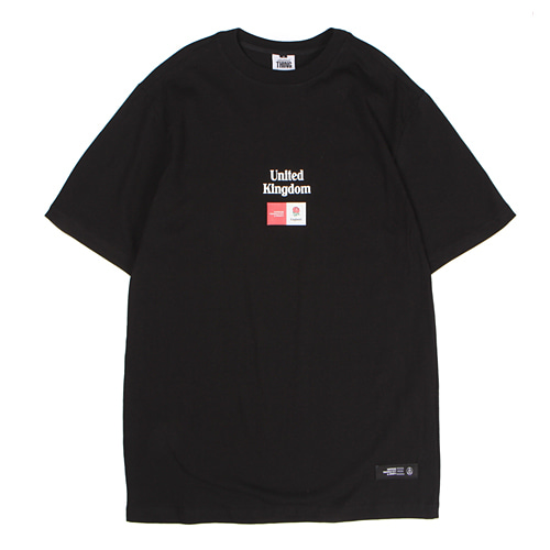 [앱놀머씽] Kingdom T-Shirt (Black)