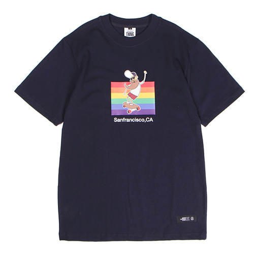 [앱놀머씽] Sanfrancisco T-Shirt (Navy)