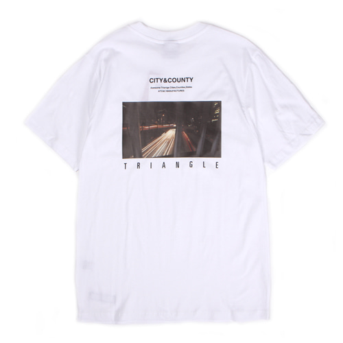 [앱놀머씽] Triangle T-Shirt (White)