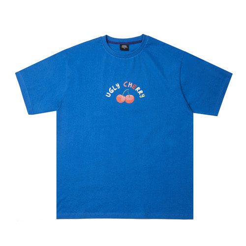 [Feel Enuff] Cherry T-Shirt - Blue