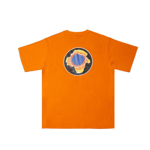 [Feel Enuff] Earth T-Shirt - Orange