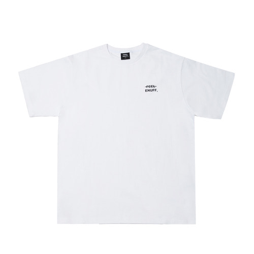 [Feel Enuff] Logo T-Shirt - White