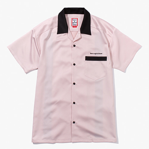 [Have a good time] Bowling Shirts - Pink