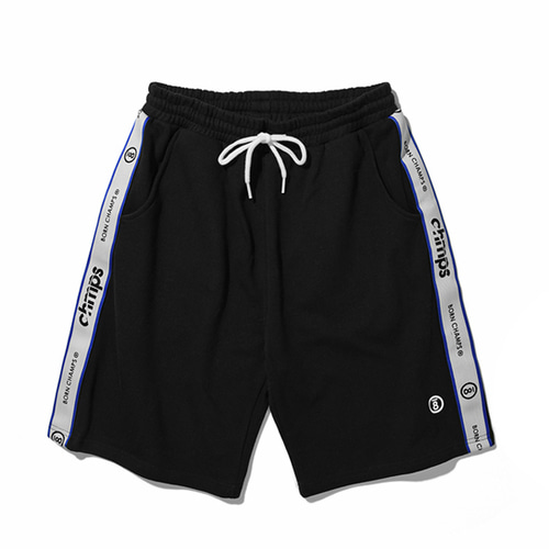 [Bornchamps]TAPE SHORTS PANTS CERBMTP01BK