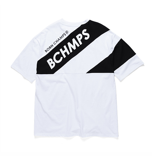 [Bornchamps]8 LOGO TEE CERBMTS03WH