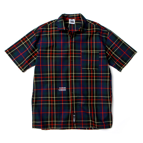 [앱놀머씽] Check Shirts (Navy)