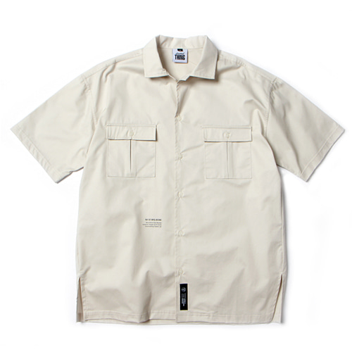 [앱놀머씽] Work Shirts (Beige)