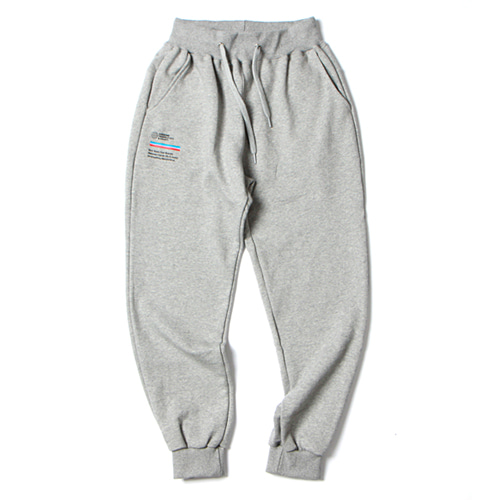 [앱놀머씽] ATC Sweat Jogger Pants (Gray)