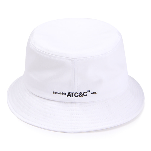 [앱놀머씽] ATC Bucket Hat (White)