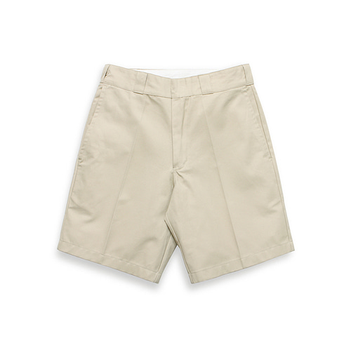 [LAFUDGESTORE]Normal 1/2 Chino pants_Beige