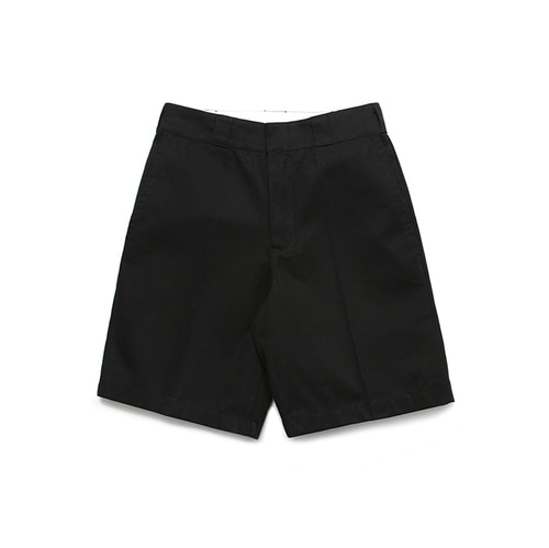 [LAFUDGESTORE]Normal 1/2 Chino pants_Black