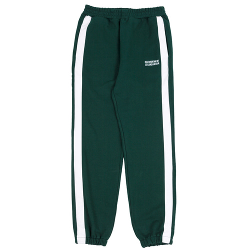 [RATIONNEMENT] Striped Jogger Pants Green