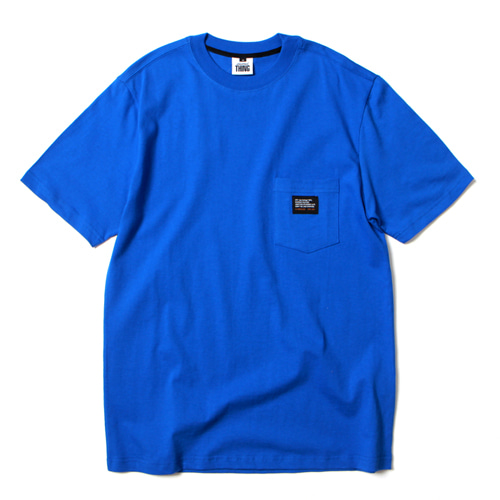 [앱놀머씽] Pocket T-Shirt (Blue)