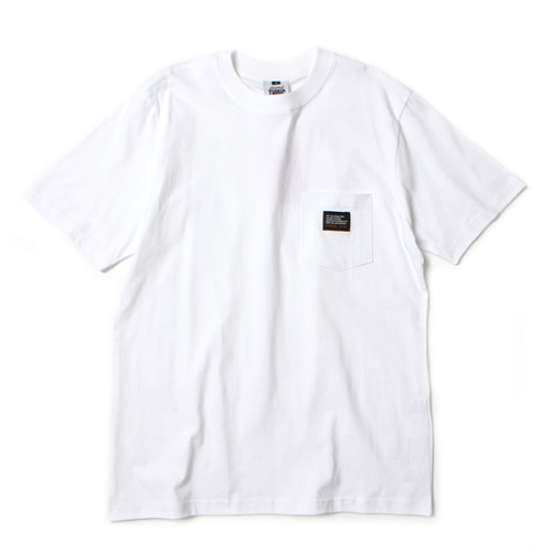 [앱놀머씽] Pocket T-Shirt (White)