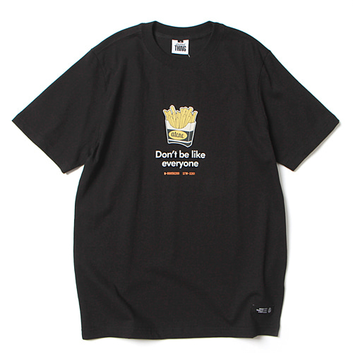 [앱놀머씽] Potato T-Shirt (Black)