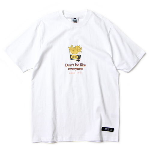 [앱놀머씽] Potato T-Shirt (White)