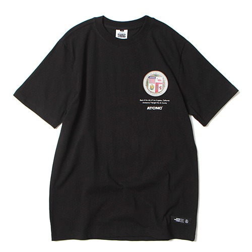 [앱놀머씽] California T-Shirt (Black)
