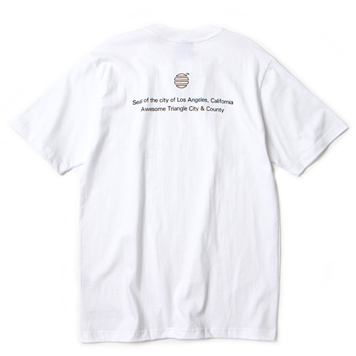 [앱놀머씽] California T-Shirt (White)