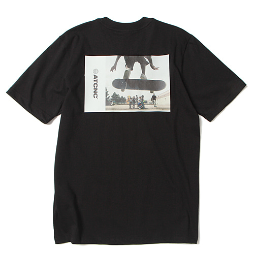 [앱놀머씽] Rabble T-Shirt (Black)
