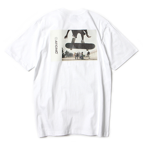 [앱놀머씽] Rabble T-Shirt (White)