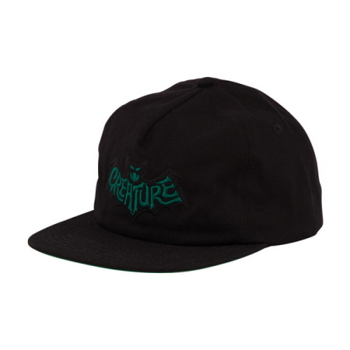 [CREATURE] BATTY  ADJUSTABLE SNAPBACK  - BLACK