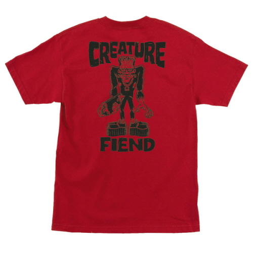 [CREATURE] FRANKENFIEND S/S TEE - RED