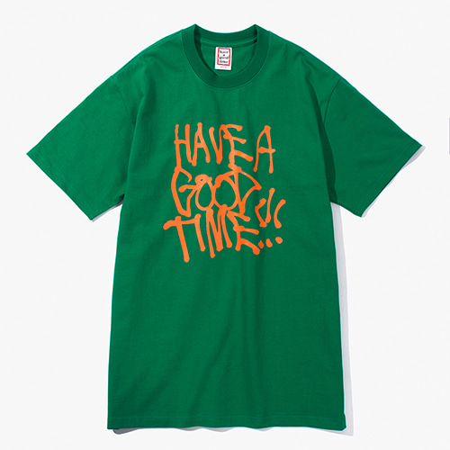 [Have a good time] Nasty S/S Tee - Green