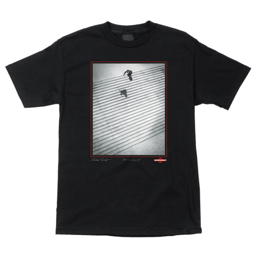 [INDEPENDENT] BURNETT/ JAWS S/S TEE - BLACK