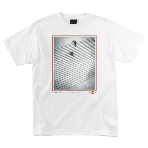 [INDEPENDENT] BURNETT/ JAWS S/S TEE - WHITE