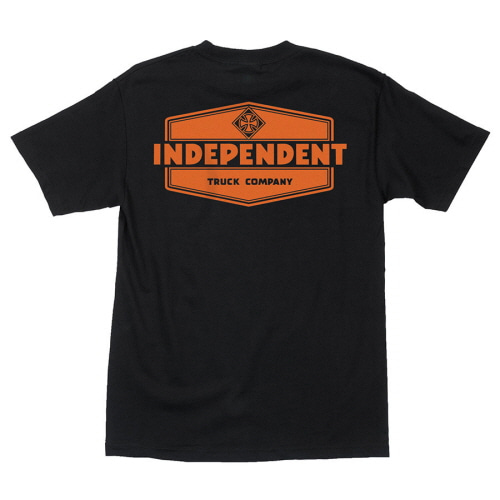 [INDEPENDENT] INDUSTRY S/S TEE - BLACK