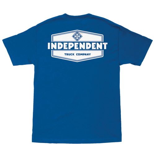[INDEPENDENT] INDUSTRY S/S TEE - ROYAL