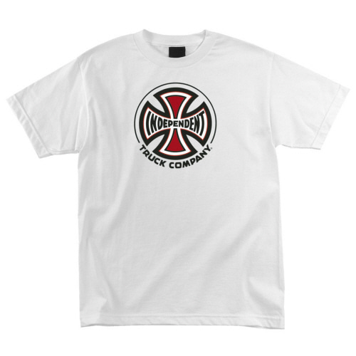 [INDEPENDENT] TRUCK CO.  S/S TEE - WHITE