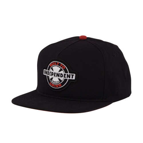 [INDEPENDENT] 95 BTG RING ADJUSTABLE SNAPBACK  - BLACK
