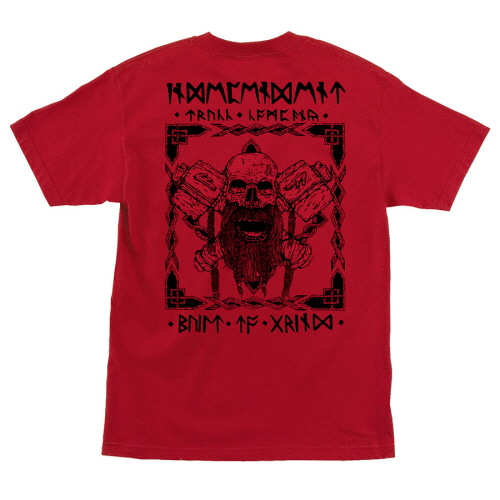 [INDEPENDENT] HASLAM NORSEMAN S/S TEE - RED