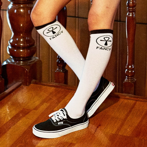 [NSTK] NSTK S2 FANCY SKATE SOCKS (WHT)