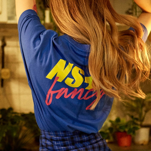 [NSTK] NASTY FANCY TEE (BLUE)