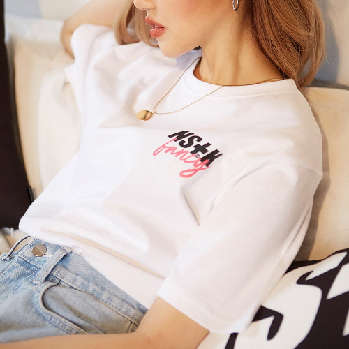 [NSTK] NASTY FANCY TEE (WHT)