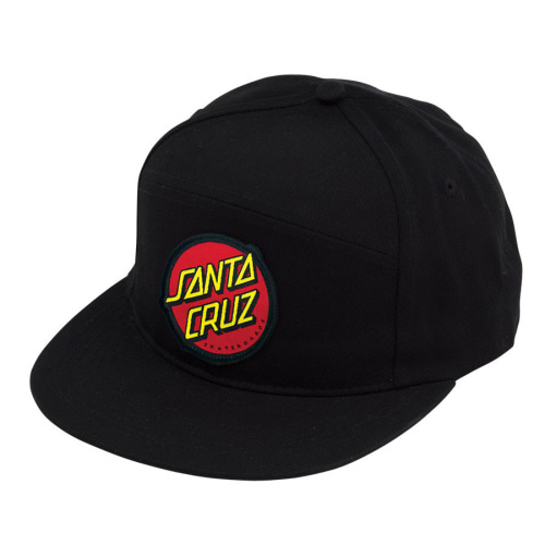 [SANTA CRUZ] DOT  ADJUSTABLE SNAPBACK  - BLACK