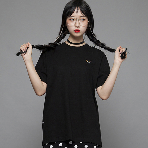 (35%할인)[MSUL] Ti_Me Short Tee - Black