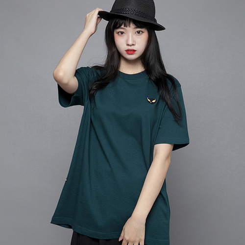 (35%할인)[MSUL] Ti_Me Short Tee - Green