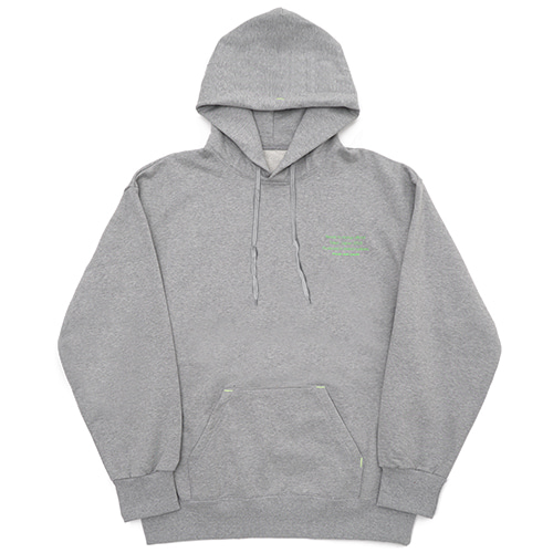 [Fresh anti youth] Reception Hoody - Grey