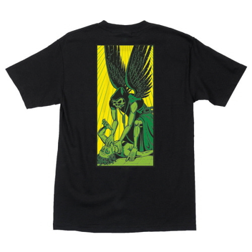 [CREATURE] ANGEL OF DEATH S/S TEE - BLACK